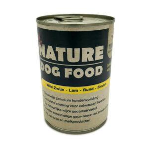 Wild Zwijn, Lam, Rund, Braam (Natvoer van Nature Dog Food)