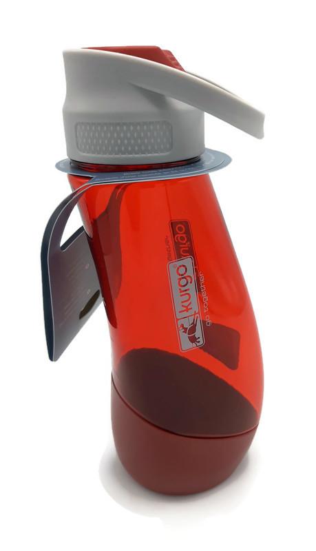 H2O Bottle & Bowl, De Kurgo Gourd (Rood)