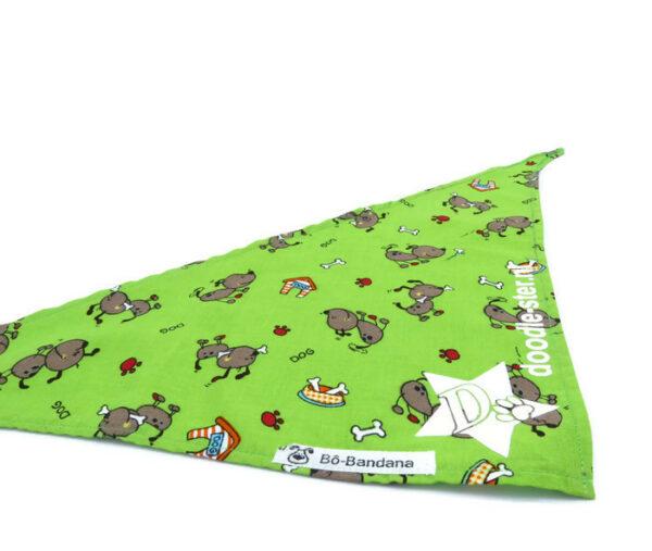 Bandana Dogs (groen)
