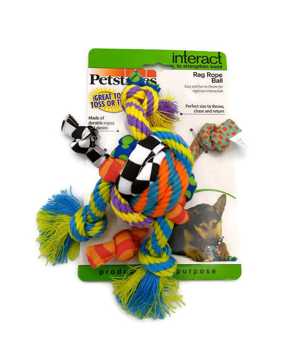 Rag Rope Ball (petstages)