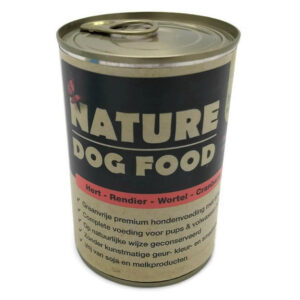 Hert, Rendier, Wortel en Cranberry (Natvoer van Nature Dog Food)