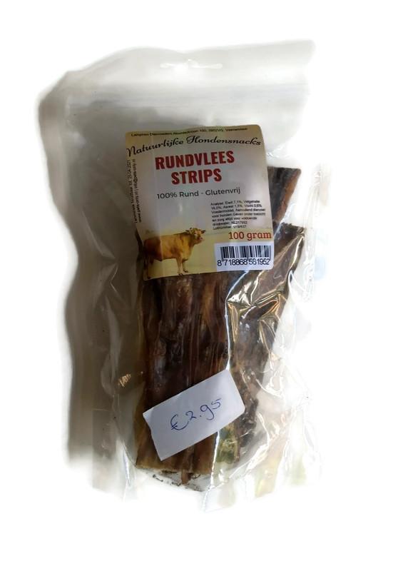 Rundvlees strips (100 gram)