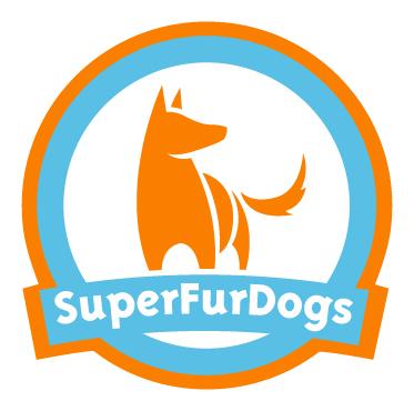 WipyTowel (Super Fur Dogs) Antraciet Grijs