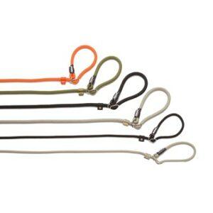 Honden Trainingslijn met Halsband in 1 (gevlochten)