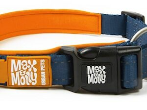 Max & Molly Hondenhalsband Matrix, Orange (Maat XS)