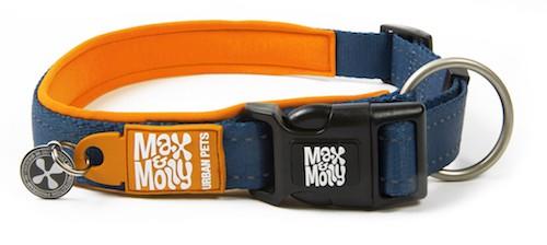 Max & Molly Hondenhalsband Matrix, Orange (Maat XS)