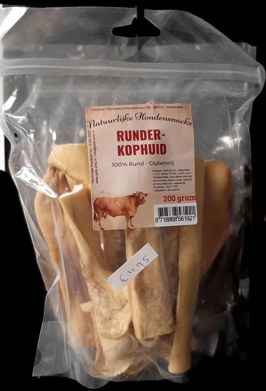 Runderkophuid (200 gram)