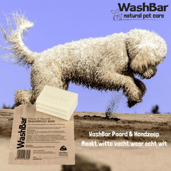 Paard & Hond zeepblok - WashBar
